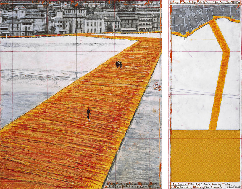christo-italy-lake-iseo-golden-floating-pier-project-designboom-11